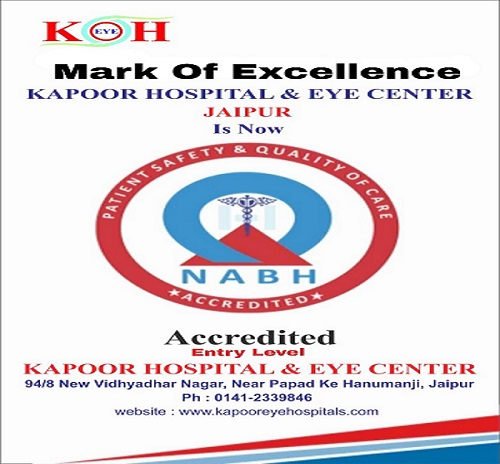 NABH Accredited - Mark of Excellence